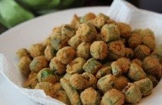 The Best Fried Okra | SouthernBite.com