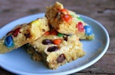 Easiest Chocolate Chip Cookie Bars EVER | SouthernBite.com