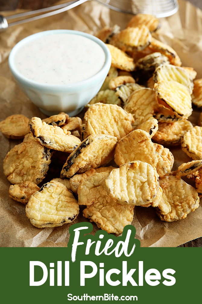 Fried Dill Pickles for Pinterest