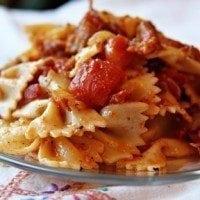 tomato-bacon-pasta