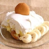 Unconvential Banana Pudding