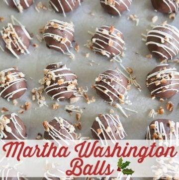 A Little Family Christmas: Martha Washington Balls