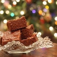 Easy Christmas Fudge | SouthernBite.com