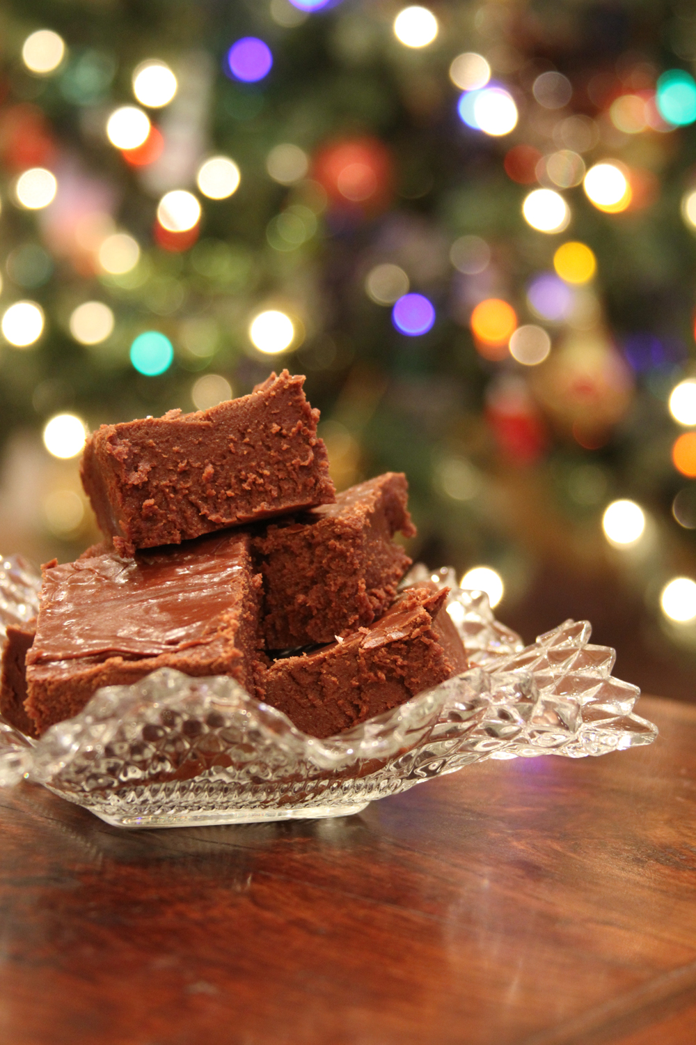 Easy christmas fudge southern bite note forumfinder Choice Image