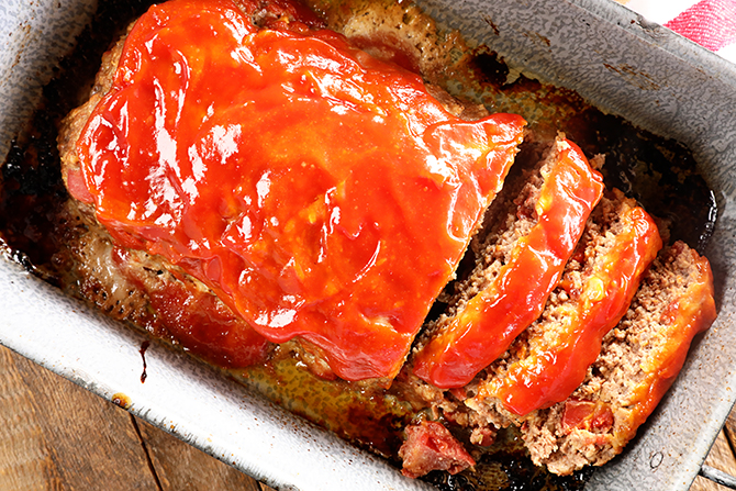 Quick And Easy Meatloaf Southern Bite
