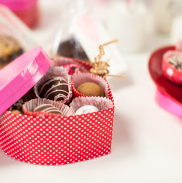 """Valentine's Truffles and A """"Little"""" Love Story"""