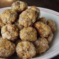 Sausage Balls | SouthernBite.com