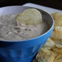 French Onion Dip | SouthernBite.com