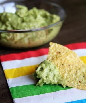 Guacamole and Happy National Chip and Dip Day!