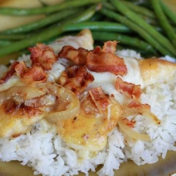 Easy Smothered Chicken
