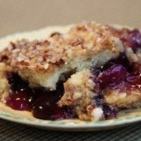Pineapple Blueberry Crumble | SouthernBite.com