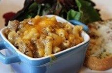 Cheesy Hamburger Skillet | SouthernBite.com