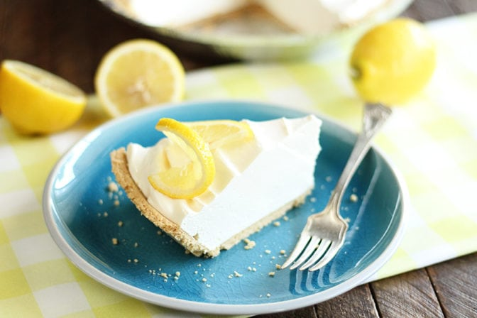 Light, sweet, tangy, and easy-to-make is how to describe this Lemonade Pie. It's the perfect summer dessert!
