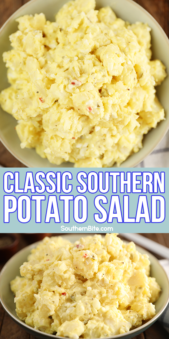Classic Southern Potato Salad - image for Pinterest