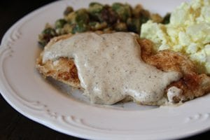 Easy Chicken with Pan Sauce