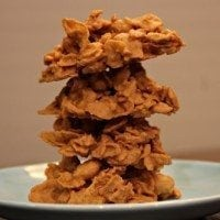 No-Bake Butterscotch Cornflake Cookies | SouthernBite.com