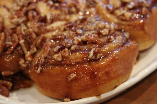 Sticky Pecan Cinnamon Buns - Southern Bite
