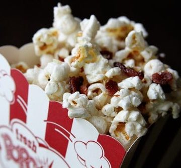 Loaded Bacon Popcorn