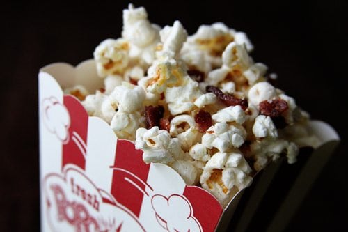 Loaded Bacon Popcorn | SouthernBite.com