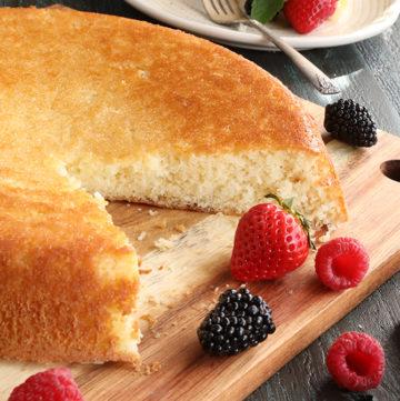 Old Fashioned Skillet Cake (or Plain Cake)