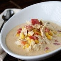 Chicken Corn Chowder | SouthernBite.com