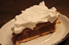Hershey Bar Pie | SouthernBite.com