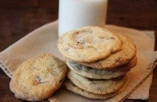 Sweet and Salty Heath Bard Cookies | SouthernBite.com