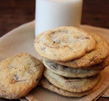 Sweet and Salty Heath Bar Cookies