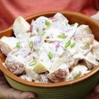 Southwest Potato Salad | SouthernBite.com #southernbite