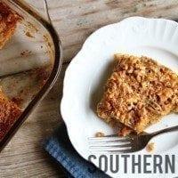 Chewy Pecan Pie Bars | SouthernBite.com