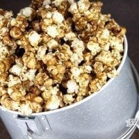 Salted Caramel Corn | SouthernBite.com
