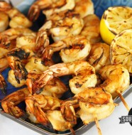Easy Grilled Shrimp | SouthernBite.com