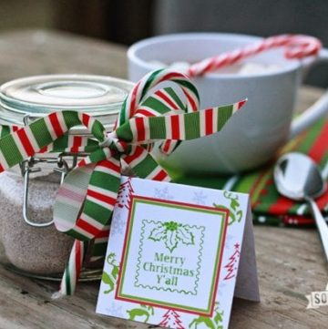 Homemade Hot Chocolate Mix – Great for gifts!