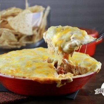 Sour Cream Chicken Enchilada Pie