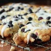Blueberry Pull-Apart Biscuits