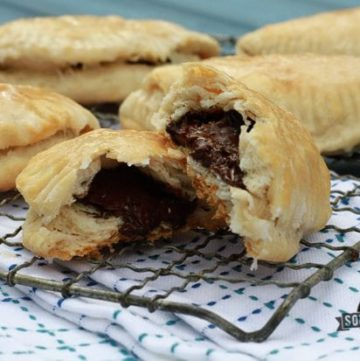 Easy Chocolate Turnovers and a Recap of Last Week's Photo Shoot