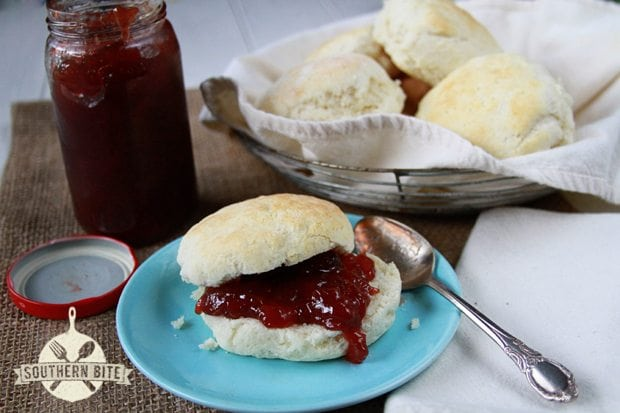 No-Cutter Buttermilk Biscuits