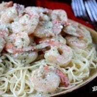 Pesto Shrimp Pasta