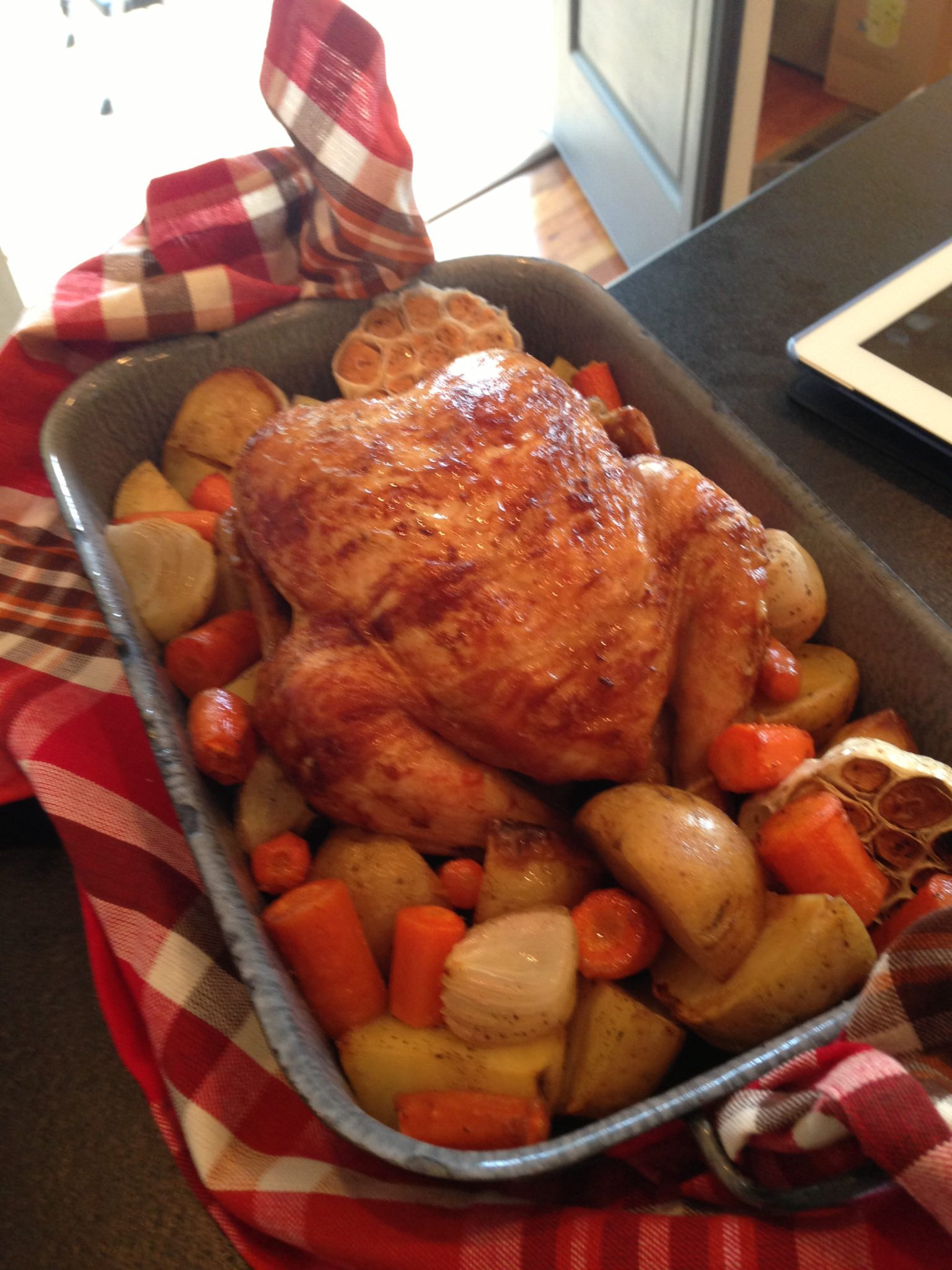 Garlic Roasted Chicken