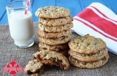 Peanut Butter Choclate Chip Cookies