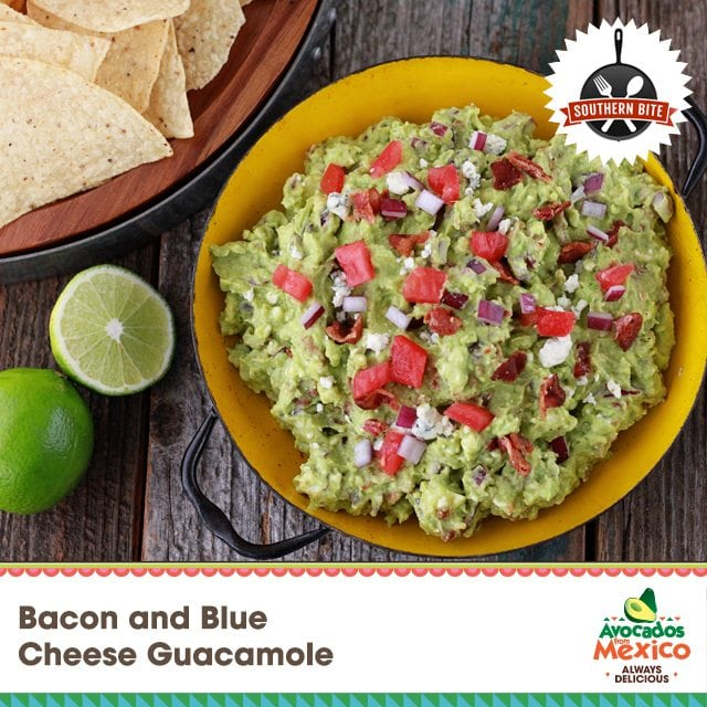 Bacon and Blue Cheese Guac