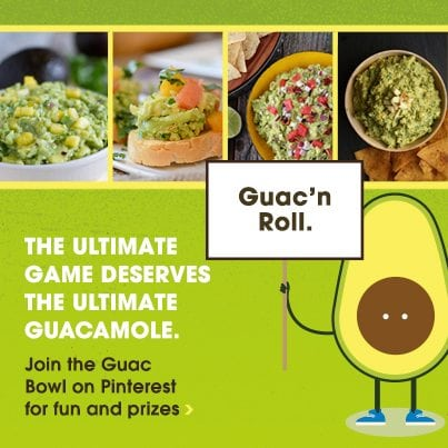 Guac Bowl graphic for Bloggers