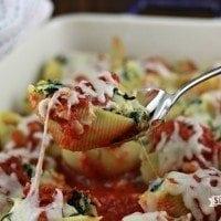 Cream Cheese Chicken Stuffed Shells
