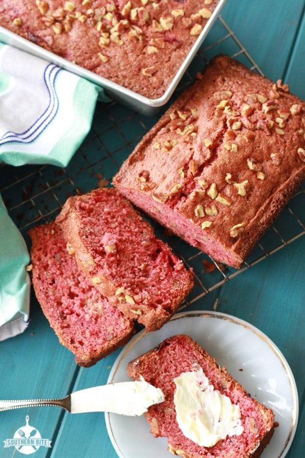 Strawberry Bread - Pinterest2