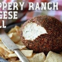 Peppery Ranch Cheeseball