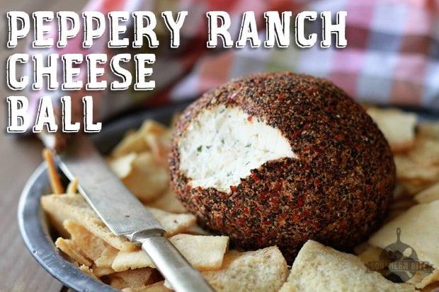 Peppery Ranch Cheeseball