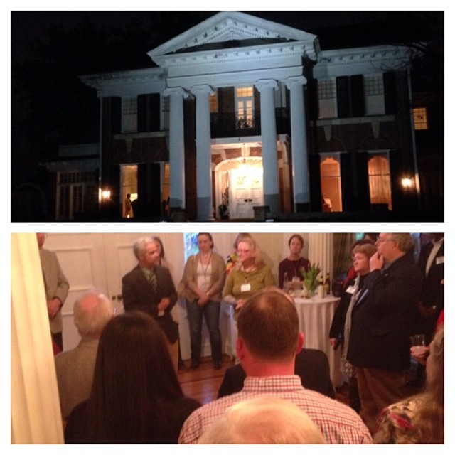 Great time tonight at the Alabama Book Festival Author Party! Excited about tomorrow! #bamabookfest