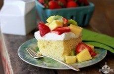 Tres Leches Poke Cake