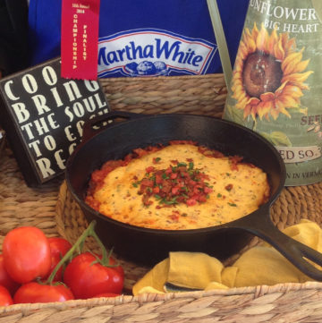 Roasted Tomato and Bacon Cobbler and the National Cornbread Festival