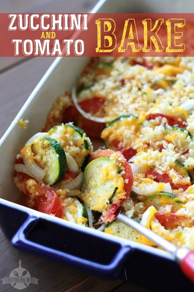 Zucchini and Tomato Bake - Pinterest